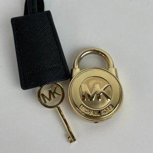 Michael Kors Original Gold-Tone Lock and Key